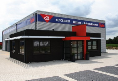 Nieuwbouw autobedrijf te Ulft